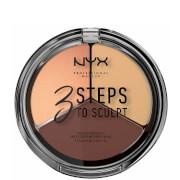 NYX Professional Makeup 3 Steps to Sculpt Face Sculpting Palette - Medium