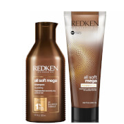 Redken All Soft Mega Shampoo and Mask Duo