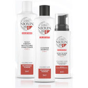 NIOXIN 3-Part System 4 Trial Kit for Coloured Hair with Progressed Thinning