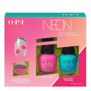 OPI Limited Edition PUMP Neon Collection - Nail Art Duo Pack #1
