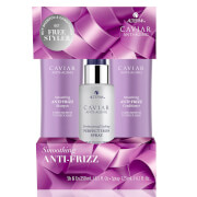 Alterna Caviar Anti-Frizz + Iron Kit
