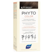 Phyto Hair Colour by Phytocolor - 6.77 Light Brown 180g