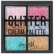 Barry M Cosmetics Glitter Cream Palette 1