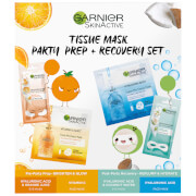Garnier Tissue Mask Party Prep and Recovery Set