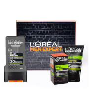L'Oréal Paris Men Expert Pure Charcoal Oily Skin Kit (Worth £15.97)