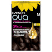 Garnier Olia Permanent Hair Dye - 5.0 Brown
