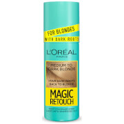 L'Oréal Paris Magic Retouch Medium to Dark Blonde Instant Dark Root Touch Up Spray 75ml