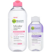 Garnier Micellar Water and Makeup Remover for Sensitive Skin Kit Exclusive