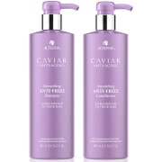 Alterna Caviar Smoothing Anti-Frizz Shampoo and Conditioner 16.5 oz