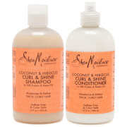 SheaMoisture Shampoo and Conditioner Curly Hair Duo (Worth $39.98)