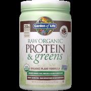 Raw Organic Protein and Greens - Chocolate - 611g
