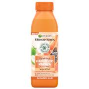 Garnier Ultimate Blends Repairing Hair Food Papaya Shampoo For Damaged Hair 350ml