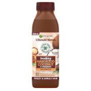 Garnier Ultimate Blends Smoothing Hair Food Coconut Shampoo For Frizzy Hair 350ml