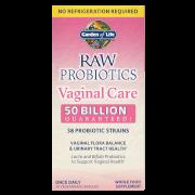 Raw Microbiome Vaginal Care Shelf - 30 Capsules