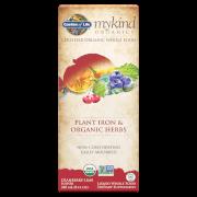 mykind Organics Plant Iron And Herbs Cranberry-Lime - 240ml
