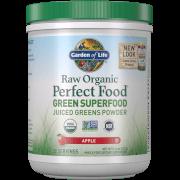 Органический порошок из сока зелени растений Raw Organic Perfect Food Green Superfood — Со вкусом яблока — 231 г