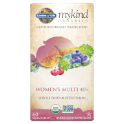 mykind Organics Women's 40 Multi - 60 Tablets