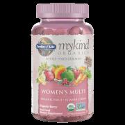 mykind Organics Мультивитаминный комплекс для женщин - Ягоды - 120 мармеладок