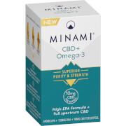 CBD + Omega-3 Fish Oil - 30 Capsules