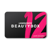 LOOKFANTASTIC Beauty Box 12 Month Subscription Gift Voucher