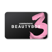 LOOKFANTASTIC Beauty Box 3Month Subscription Gift Voucher