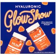 HUM Nutrition Hyaluronic Glow Show - 2 Bottles of Glow Sweet Glow (2 x 60 Vegan Gummies, 30 Days)