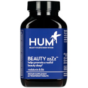 HUM Nutrition Beauty ZZZZ Restful Beauty Sleep Supplement (30 Vegan Tablets, 30 Days)