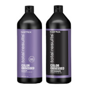 Matrix Total Results Color Obsessed Shampoo and Conditioner Bundle 2 x 1000ml