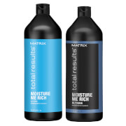 Matrix Total Results Moisture me Rich Shampoo and Conditioner Bundle 2 x 1000ml