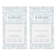 NuFACE Prep-N-Glow Cloths Duo (Pack of 40 - Worth $80)