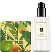 Jo Malone London Lime Basil and Mandarin Soap and Hand Lotion Bundle