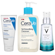 Strengthen and Smooth Face and Body with Hyaluronic Acid Expert Skin Routine Bundle
