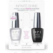 OPI Nail Base and Top Coat Infinite Shine Long-Wear System 1st and 3rd Step Duo Pack 2 x 15ml