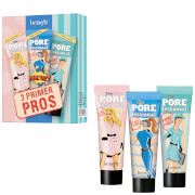benefit Mattify, Brighten and Hydrate Porefessional Face Primer Trio 22.5ml (Worth £36.00)