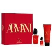 Armani Si New Passione 50ml Christmas Gift Set (Worth £90.00)