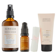 Aurelia Probiotic Skincare 3 Step Routine Bundle (Worth £102.00)