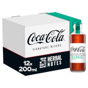 Coca-Cola Signature Mixers Herbal 12 x 200ml