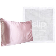 Slip Exclusive Silk Pink Pillowcase Duo and Delicates Bag (Worth $193.00)