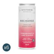Agua con Gas y Vitaminas - Recharge (Pack de 6)
