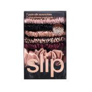 Slip Pure Silk Scrunchies Mega Set - Plum Rose