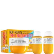 Sol de Janeiro Triple Brazilian Butter Hair Repair Mask Set