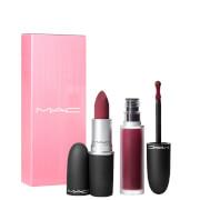 MAC Powder Kiss Lip Kit - Like Mother
