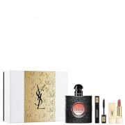 Yves Saint Laurent Black Opium Eau de Parfum and Makeup Icons Gift Set (Worth £90.00)