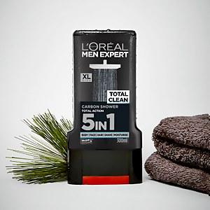 Мужской гель для душа Men Expert Total Clean от L'Oréal Paris, 300мл