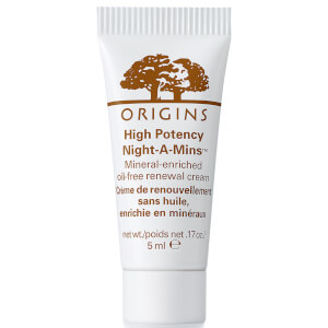 Origins High Potency Night-a-Mins Resurfacing Cream with Fruit-Derived AHAs 5ml (Free Gift)
