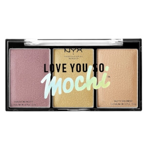 NYX Professional Makeup Love You So Mochi Highlighting Palette - Lit Life (Free Gift)