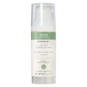 REN Clean Skincare Evercalm Gentle Cleansing Milk 50ml (Free Gift)