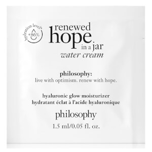 philosophy Renewed Hope in a Jar Water Cream 1.5ml (Free Gift)