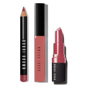 Bobbi Brown Line & Shine Pink Lip Kit (Free Gift)