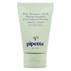 Pipette Travel Size Shampoo and Body Wash - Fragrance Free (Worth $3.75)